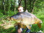 A 'cracking' 43.7 lb fish for Sylvan
